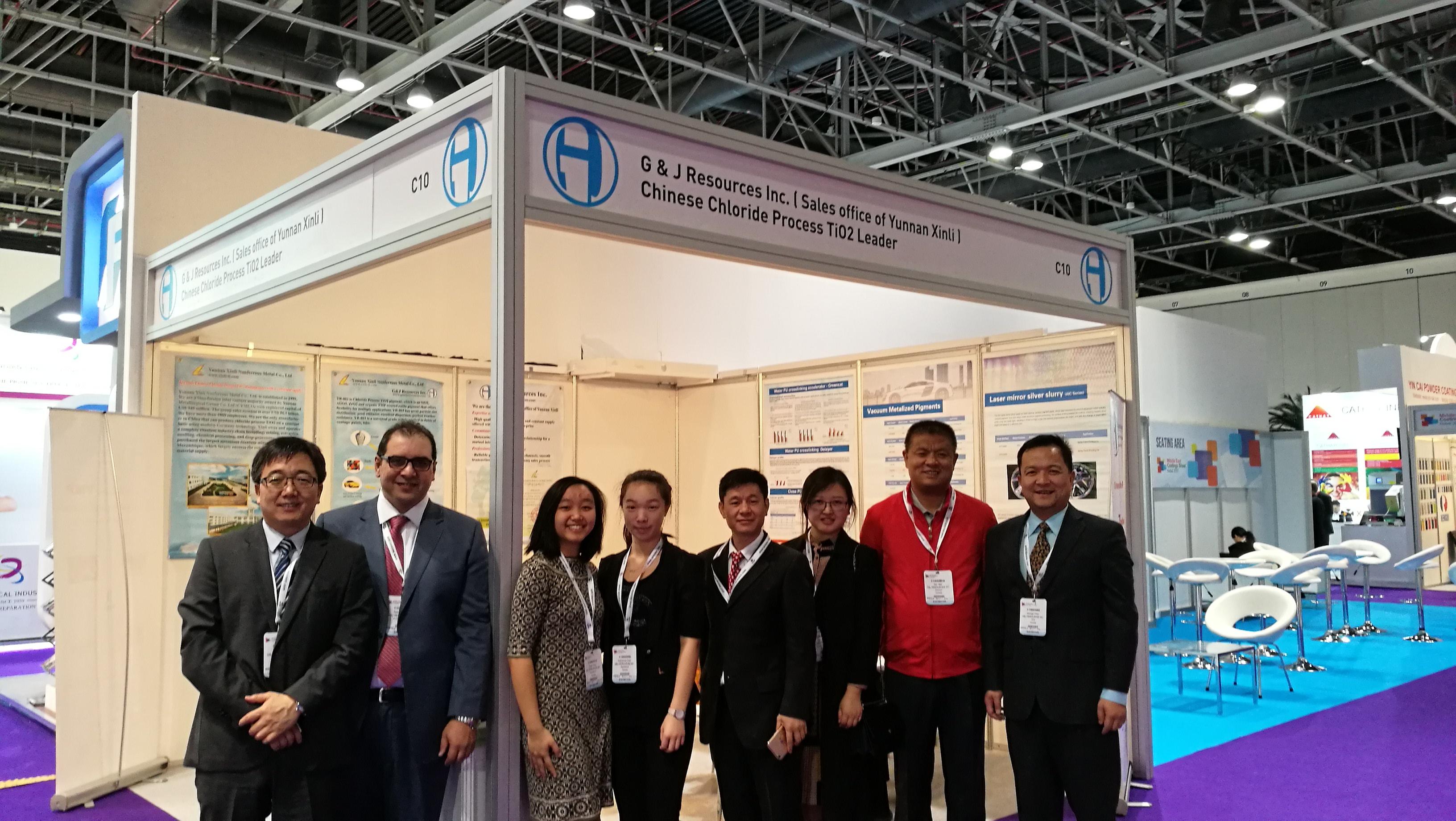 G & J Resources Inc  participation at the MECS , Dubai March 13-15